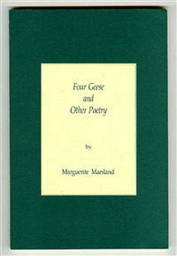 Four Geese and Other Poetry