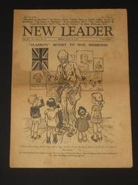 The New Leader Incorporating 'The Labour Leader': July 20th 1928