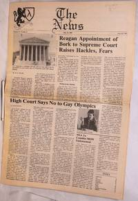image of The News: vol. 2, #8, July 10, 1987