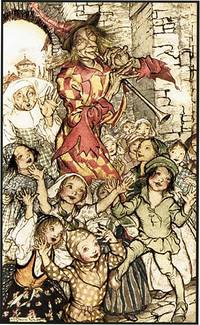 PIED PIPER OF HAMELIN by  ROBERT BROWNING - from Aleph-Bet Books, Inc. and Biblio.com