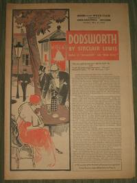 image of Dodsworth  Part 2      Philadelphia Record Supplement May 6th, 1934