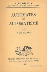 Automates et automatisme.