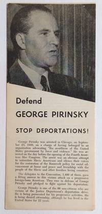 Defend George Pirinsky. Stop deportations!