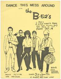 [Flyer]: Dance This Mess Around with the B-52's in PUC's A Little Night Music
