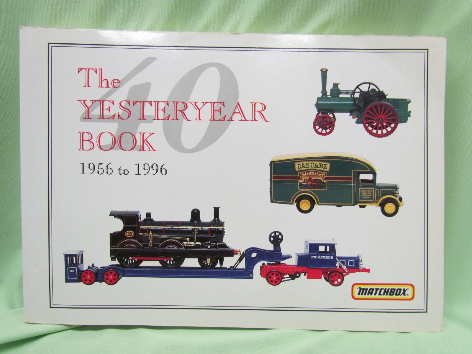 Yesteryear Book 1956 To 1996 Matchbox And Models Of