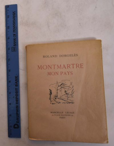 Paris: Marcelle Lesage, 1928. Paperback. VG. White wraps with black and red lettering and black illu...