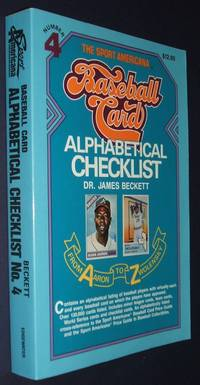 image of The Sport Americana Baseball Cards Alphabetical Checklist
