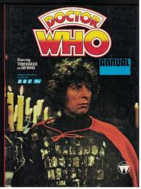 DR WHO ANNUAL Starring Tom Baker As Dr. Who