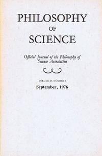Philosophy of Science (Volume 43, Number 3, September 1976)