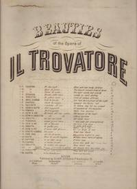 image of AH! I HAVE SIGH'D TO REST ME (Ah! Che, la Morte Ognora), Duet. No. 24 Beauties of the Opera Il Trovatore.