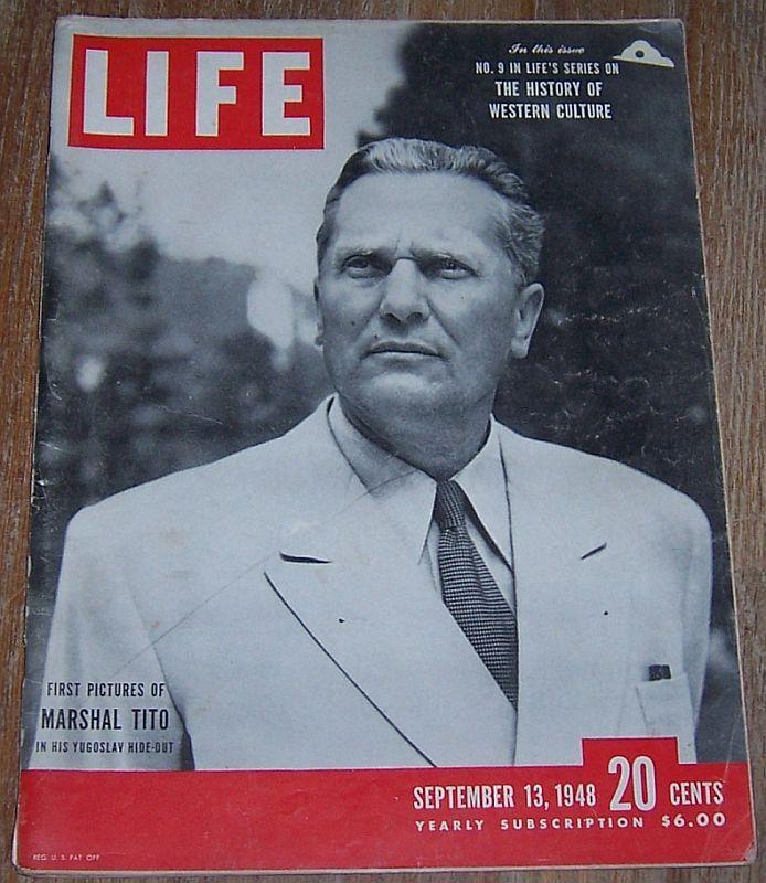 LIFE MAGAZINE SEPTEMBER 13, 1948, Life Magazine