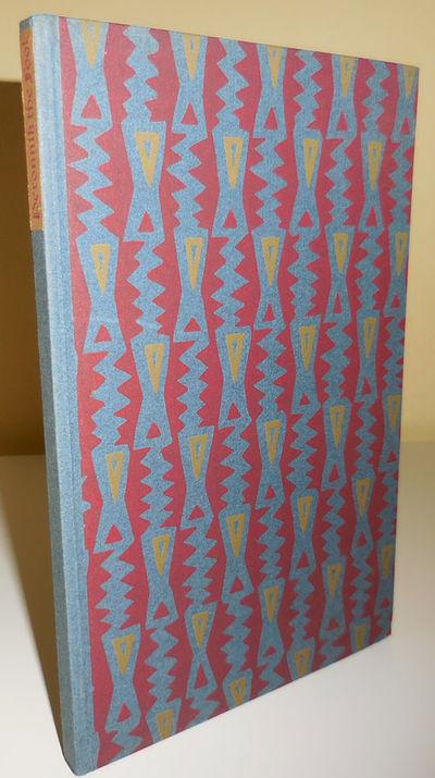 New York: William Edwin Rudge, 1926. First edition. Hardcover. Near Fine. Hardbound 8vo. 68 pp. An A...