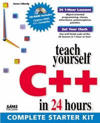 C++ by Jesse Liberty - Paperback - 1997 - from ThriftBooks (SKU: G0672310678I3N00)
