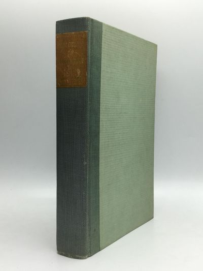 Boston and New York: Houghton Mifflin Company, 1917. First Edition. Hardcover. Near fine. Large Pape...