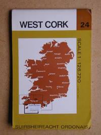 West Cork. Sheet 24. by Folding Map - 1978 - from N. G. Lawrie Books. (SKU: 39512)