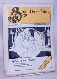 image of Sexual Freedom: quarterly publication of the Sexual Freedom League, Inc. vol. 1, #6, 1971: Flowers for Arlene