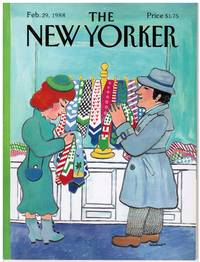image of NEW YORKER: COVER SHOPPING for TIES by BARBARA WESTMAN