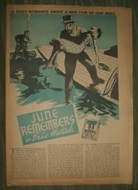 image of June Remembers     Philadelphia Record Supplement for September 3, 1939