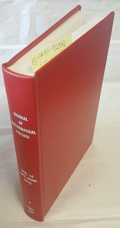 New York: American Institute of Physics, 1973. Hardcover. Quarto; VG- Hardcover; Red spine with Whit...