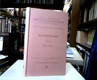 Bacchylidis Carmina Cum Fragmentis post Fr. Blass et Guil. Suess. Octavum edidit Bruno Snell....