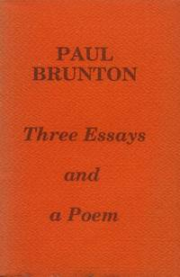 image of Three Essays and a Poem
