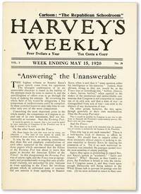 image of Harvey's Weekly. Vol. 3, no. 20 (week ending May 15, 1920) -