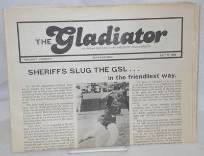 San Francisco: Victor J. Camara, 1980. Newspaper. folded tabloid newspaper illustrated with b&w phot...