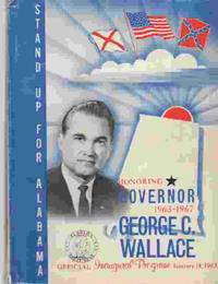 Official Inaugural Program Honoring Governor George C. Wallace, January  14, 1963 by Alabama - Paperback - First Edition; First Impression - 1963 - from A Book Legacy (SKU: 60779)