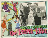 image of Que perra vida (Original lobby card for the 1962 film)
