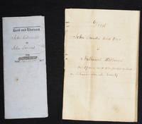 image of A Mortgage and a Deed involving John Landis of Delaware Township, Juniata County
