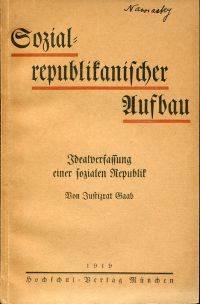 Sozialrepublikanischer Aufbau.