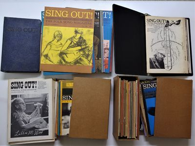 New York: Peoples Artists Inc./ Sing Out! Inc. , 1950. 115 issues of this hugely influential folk mu...
