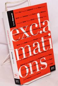 image of Exclamations, an anthology of Croatian poetry, 1971 - 1995. Translated by Miljenko Kovacicek, editors of translations: Evelyn Bristol and Graham McMaster, poems by Luko Paljektak translated by Graham McMaster