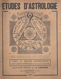 Etudes D'astrologie - Tout le Monde astrologue (fascicule 2 - leçons 9 à 16)