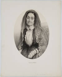 image of Portrait of 'Madam Jumel' [with] Albumen photograph the Morris - Jumel Mansion