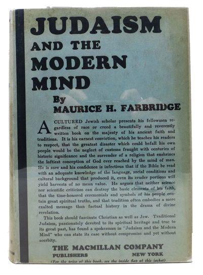 New York: MacMillan, 1927. 1st edition. Blue cloth. VG (owner sig on ffep)/VG (sp darkened somewhat/...