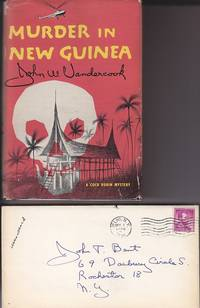 image of Murder in New Guinea.  A Case in the Career of Bertram Lynch  [A Cock Robin Mystery]  SIGNED, AND WITH AUTHOR'S LETTER