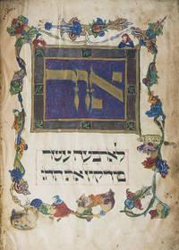 Die Darmstädter Pessach-Haggadah, codex orientalis 8 der Landesbibliothek zu Darmstadt aus dem vierzehnten Jahrhundert