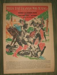 image of When D'Artagnan was Young     Philadelphia Record Supplement May 28, 1933