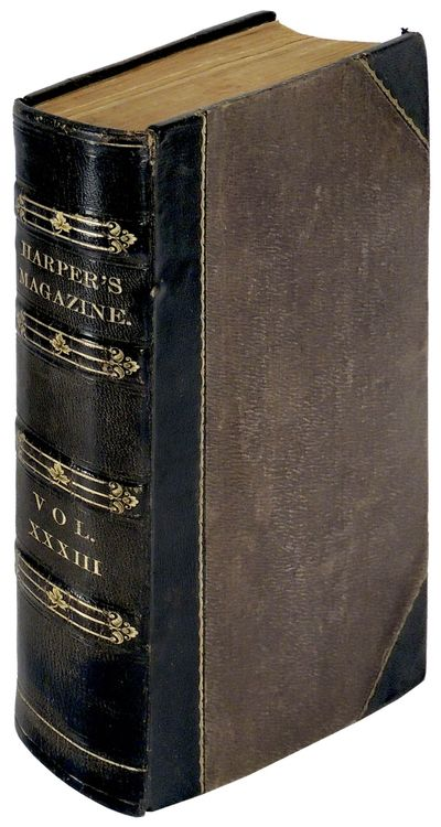 New York: Harper & Brothers, 1866. Hardcover. Very Good. Hardcover. Includes the first appearance of...