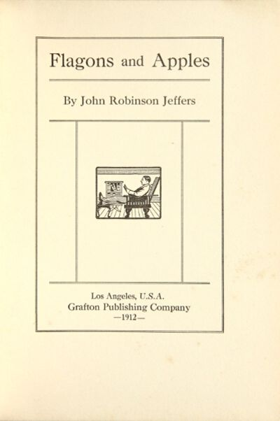 Los Angeles: Grafton Publishing, 1912. First edition of the author's first book; small 8vo, pp. , 5-...