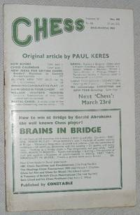 Chess: end-March 1963, Volume 28 No.428
