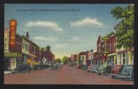 NEWCASTLE STREET, LOOKING NORTH, BRUNSWICK, GEORGIA by Postcard - N.D. - from Gibson's Books and Biblio.com