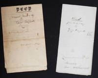 image of Two Deeds for Land in Delaware Township, Juniata County