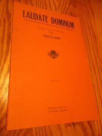Laudate Dominum; A Collection of Latin and English Hymns