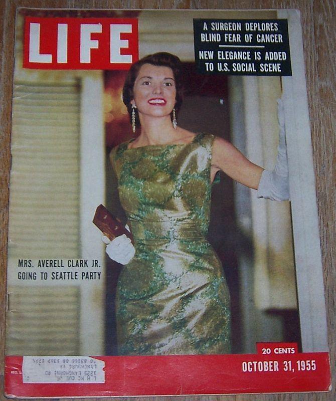 LIFE MAGAZINE OCTOBER 31, 1955, Life Magazine