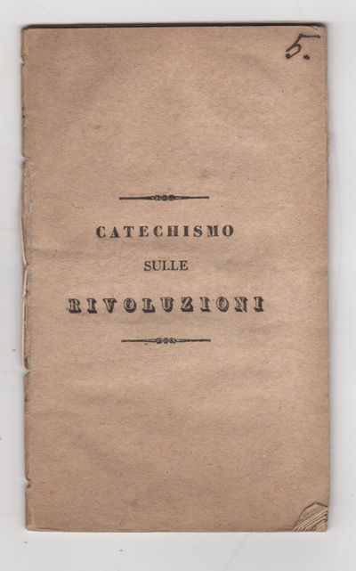: , 1832. Stitched self wrappers. Very good, lightly browned, a few lower fore edge corners folded, ...