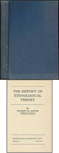 image of The History of Ethnological Theory