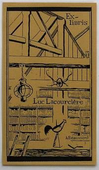 image of Ex-libris Québec. Luc Lacourcière