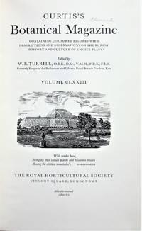 Curtis's Botanical Magazine Volume CLXXIII